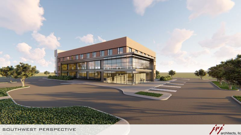 Drawing of Providence Newberg's new cardiac rehabilation center.
