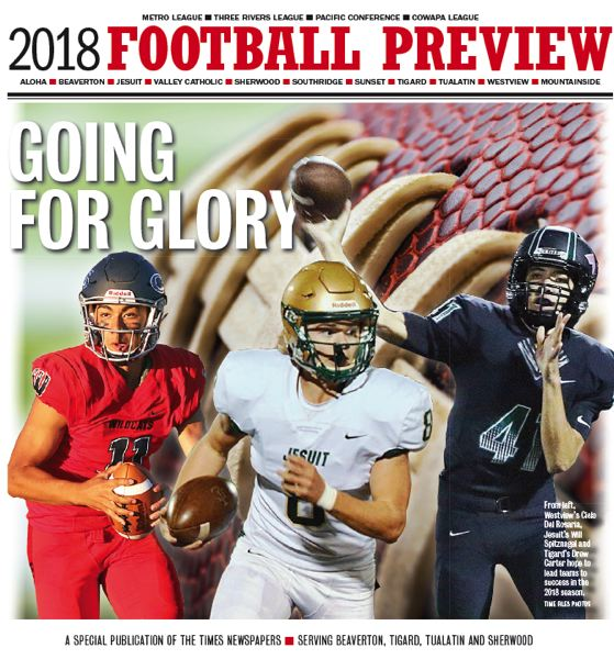 (Image is Clickable Link) 2018 Football Preview -  Beaverton Sherwood Tigard