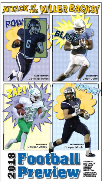 (Image is Clickable Link) 2018 Football Preview - Lake Oswego West Linn Wilsonville