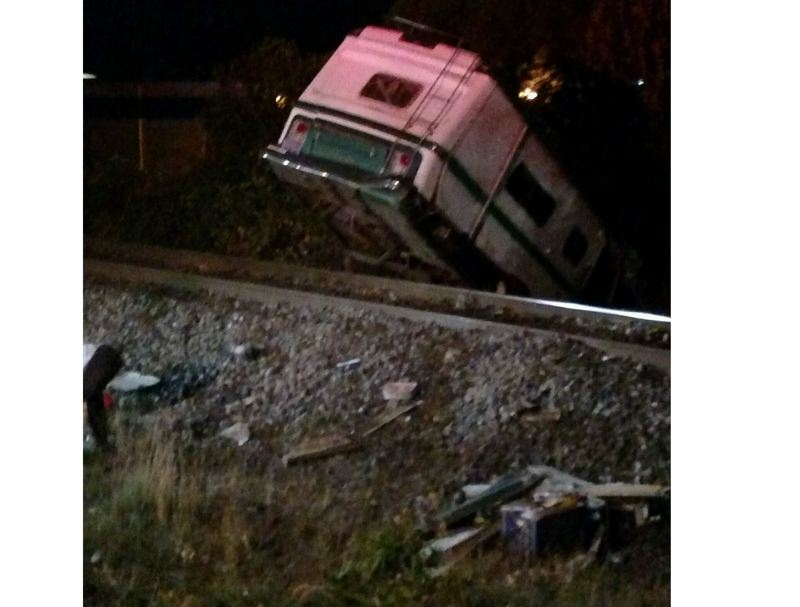 PHOTO COURTESY: MILWAUKIE POLICE - Witnesses told police that Angela Feemster's motorhome had not had brakes for over a month prior to the crash.