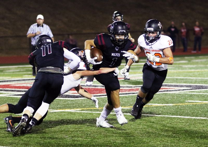 TIMES FILE PHOTO - Senior Jett Searle should be a key player for the Timberwolves on both offense and defense.