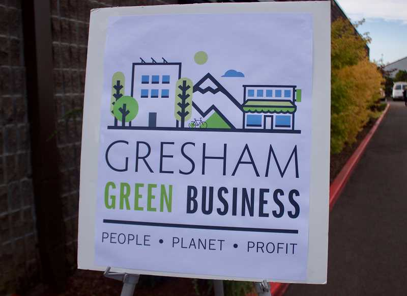 OUTLOOK PHOTO: CHRISTOPHER KEIZUR - The city of Gresham rebranded its sustainability program to better share its message.