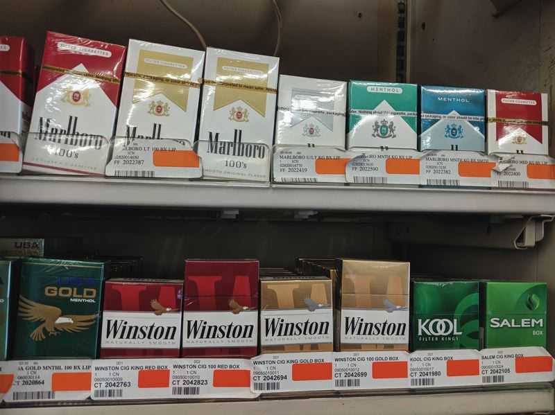 PAMPLIN MEDIA FILE PHOTO - The rate of underage tobacco sales to minors jumps from 16 to 18 percent, after minimum buying age bumped from 18 to 21.