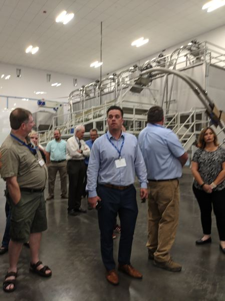 PAMPLIN MEDIA GROUP: JOSEPH GALLIVAN - A tour of the new HGO facilities, including a machine for grading hazelnuts.