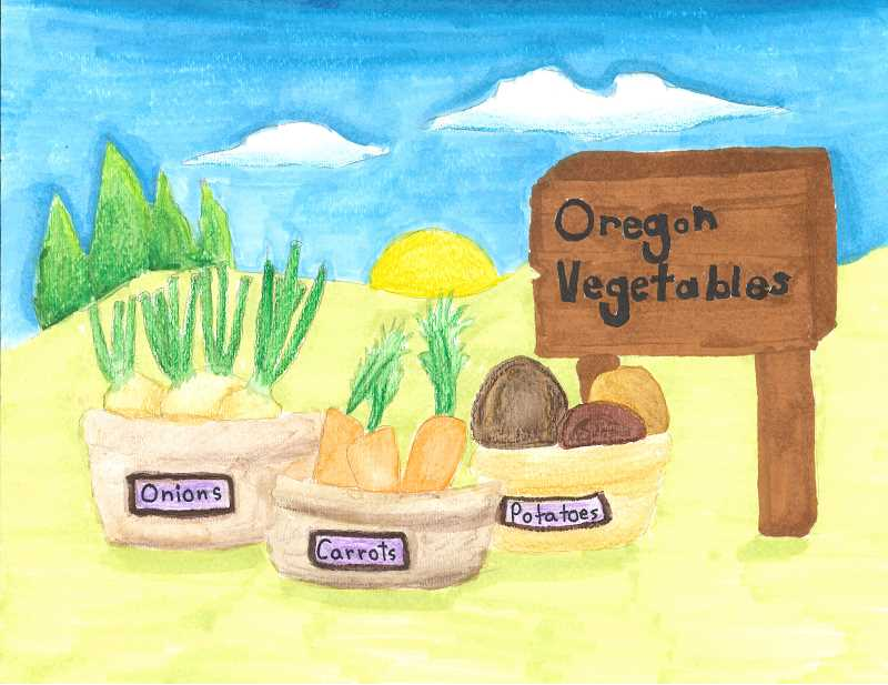 COURTESY PHOTO BY OREGON AGRICULTURE IN THE CLASSROOM FOUNDATION - Winning photo by fifth grader Hain Kim will be featured in the Oregon Agriculture in the Classroom 2019 calendar for the month of September.