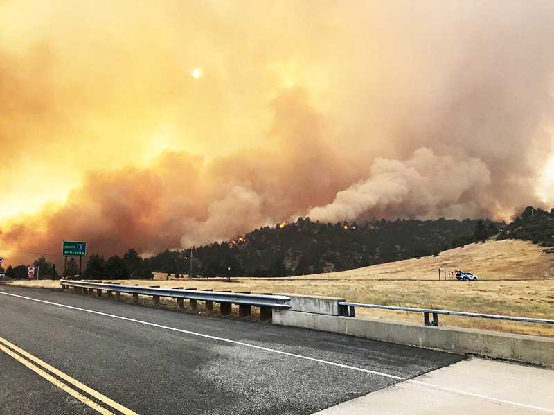 PMG FILE PHOTO - Wildfires across the Northwest have made for many hazy, unhealthy days in the Portland area over the past month.