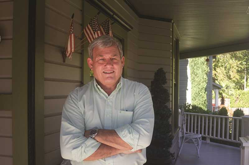 PATRICK EVANS - City Councilor Frank Lonergan is running for Mayor in the Nov. 2018 election. Lonergan will face off against former Woodburn School District administrator Eric Swenson.