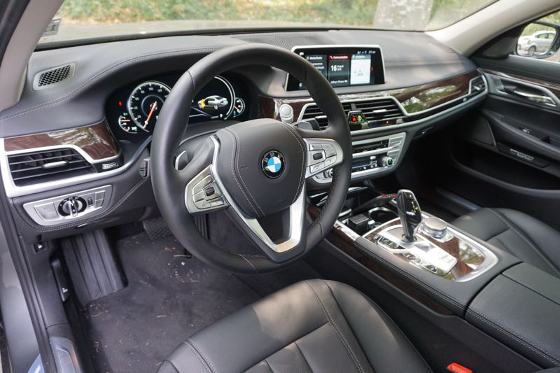 PORTLAND TRIBUNE: JEFF ZURSCHMEIDE - Inside, the 740e is a complete BMW luxury experience. A Harman Kardon surround audio system is standard, as is the 10.2-inch touchscreen-based iDrive 6.0 infotainment and control system.