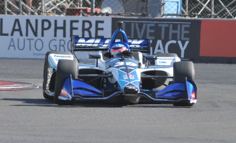 PORTLAND TRIBUNE: JEFF ZURSCHMEIDE - IndyCar driver Takuma Sato won the 2018 Grand Prix of Portland on Sept. 2.
