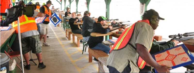 CONTRIBUTED PHOTO: DOUGLAS RIDGE RIFLE RANGE - Douglas Ridge Rifle Range's annual sight-in days are scheduled for later this month.