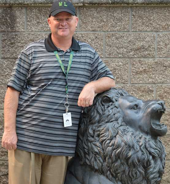 TIDINGS PHOTO: CLARA HOWELL  - Greg Neuman succeeds former WLHS Principal Kevin Mills and is looking forward to getting to know the West Linn community.