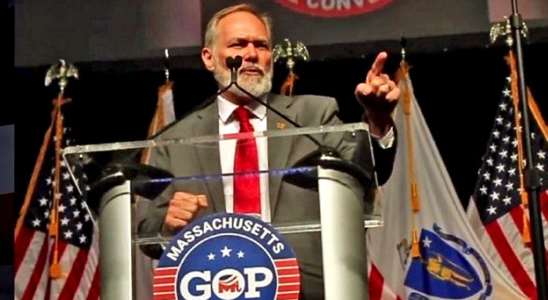 COURTESY PHOTO: LIVELY FOR GOVERNOR - Scott Lively, a conservative pastor who was formerly the face of Oregon Citizens Alliance, faced off with Massachusetts Gov. Charlier Baker in the Republican primary for that state's governor.