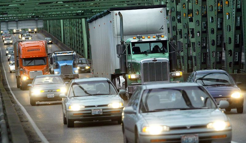 PORTLAND TRIBUNE FILE PHOTO - With no relief to bridge congestion in sight, business leaders are trying to promote a new replacement bridge after the Columbia River Crossing project went down in flames.