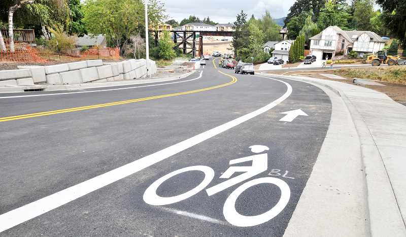GARY ALLEN - The newly-renovated Villa Road is more welcoming to pedestrian and bicycle use.