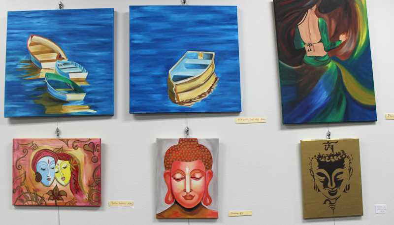 Many of Priya Pandeys pieces were inspired by Indian culture.