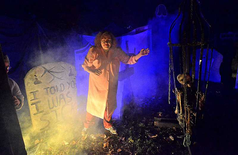 TIDINGS FILE PHOTO - Over the years since it began in 2011, the Haunted Trail became a beloved Halloween staple in the community. This year, the City said it simply didnt have the resources to support it anymore.