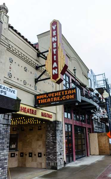 STAFF FILE PHOTO - The Venetian Theater in downtown Hillsboro has sat empty for more than a year after a sale for the company fell through. Now, city officials are asking residents what they want to see from the space.
