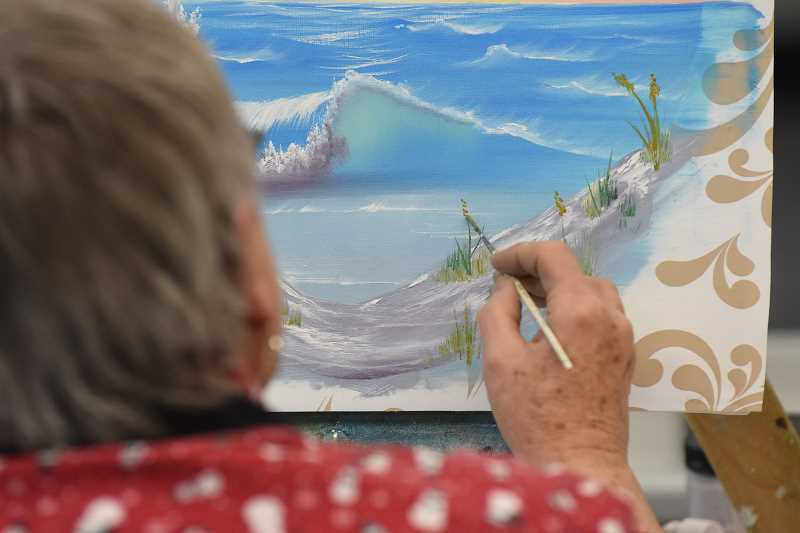 Pamplin Media Group Learn To Paint Using Bob Ross Method
