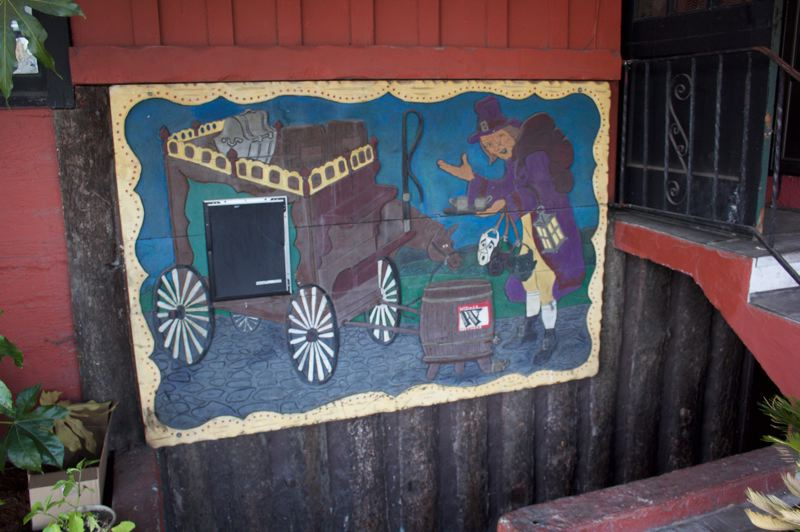 COURTESY: TACEE WEBB - The building still features hand-carved panels from the days when it housed Ye Olde Towne Crier.