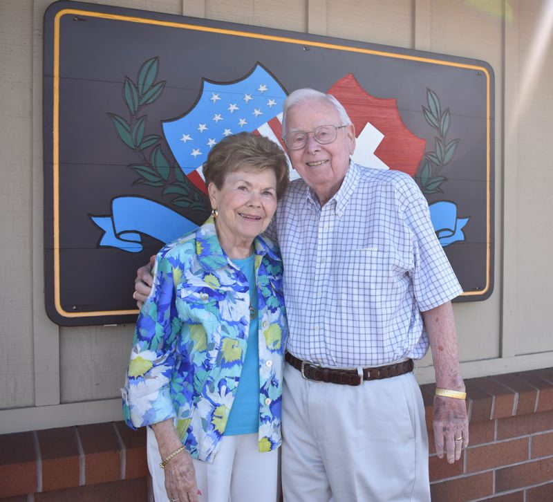 OUTLOOK PHOTO: TERESA CARSON - Don and Marie Eklund founded Heidis of Gresham restaurant 50 years ago.