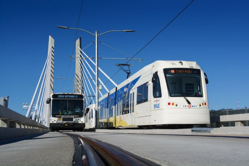 PORTLAND TRIBUNE FILE PHOTO - TriMet will receive $49 million a year from a new state payroll tax.