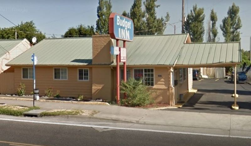 COURTESY GOPGLE MAPS - The Budget Inn in Northeast Portland where a shooting reportedly took place.