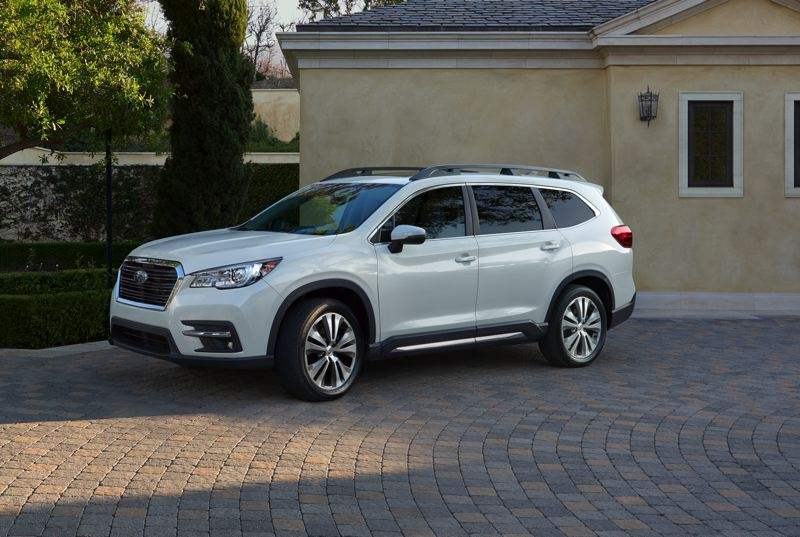 SUBARU OF AMERICA - The all-new 2019 Subaru Ascent looks at home anywhere. It is the most convnetional and family-friendly vehicle the company has ever built.
