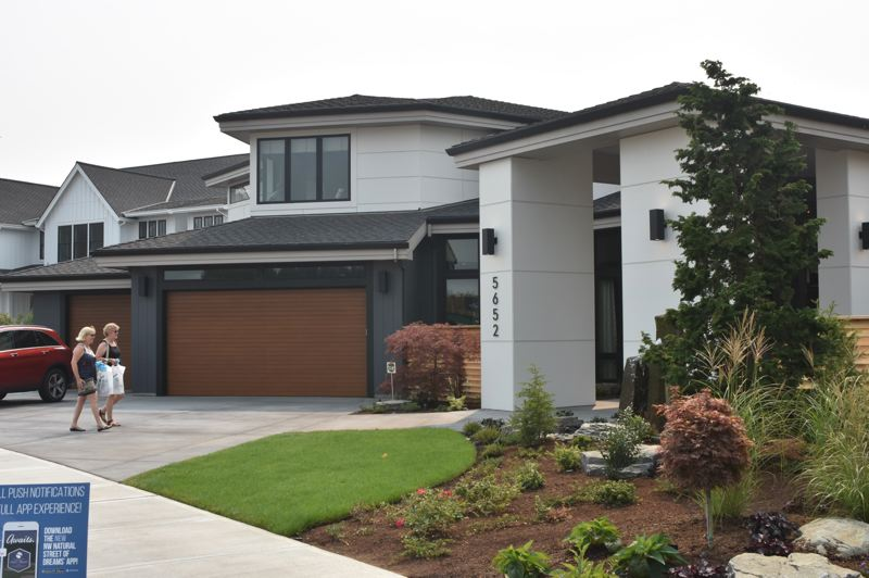 PAMPLIN MEDIA GROUP FILE PHOTO - Private Reserve, the BC Custom Construction home at this years NW Natural Street of Dreams, took home the Professionals Choice Best of Show award.