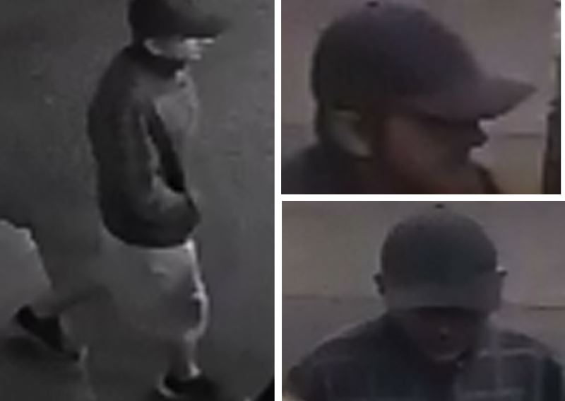 PPB PHOTOS - Police released these security camera images of a white man who is a suspect in a robbery of a gas station in the Creston-Kenilworth neighborhood.