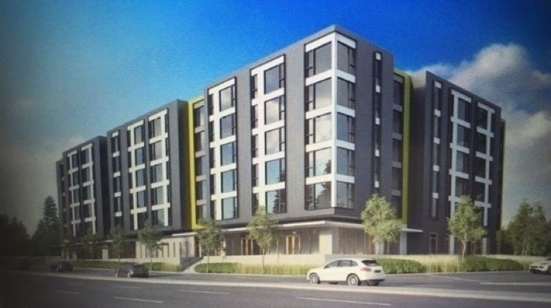 CONTRIBUTED - Artists rendering of the Willow Creek affordable housing apartments currently under construction in Washington County. If approved, the $652.8 million Metro affordable housing bond could fund similar projects in the region.