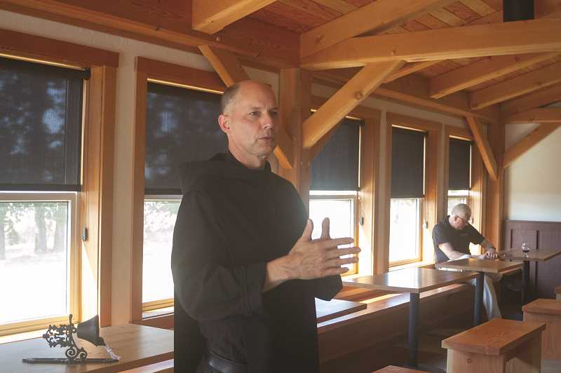 PATRICK EVANS - Father Martin Grassel of Mount Angel Abbey tells the story of how the Benedictine Brewery came to be and how he learned to brew beer.