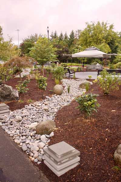 OUTLOOK PHOTO: CHRISTOPHER KEIZUR - Before being turned into the plaza, the space near the Springwater Corridor Trail was basically an unseemly mud pit.