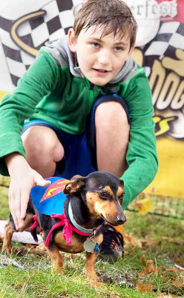 ENIGMA PHOTOS - The annual Wiener Dog Race is set for noon to 3 p.m. Saturday at the Chehalem Cultural Center as part of Oktoberfest.