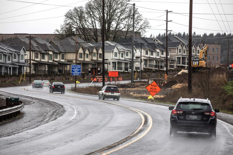 PORTLAND TRIBUNE: JONATHAN HOUSE - Hundreds of homes have recently been built near the new Mountain High School in the Cooper Mountain area of Beaverton. Most of those still under construction have already been sold.