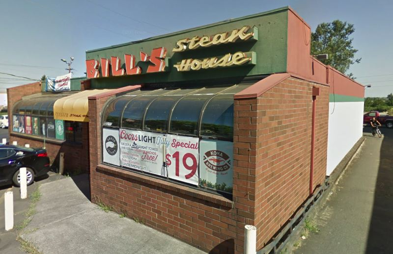 COURTESY GOOGLE - Bill's Steak House is shown here in a screenshot taken from Google Maps.