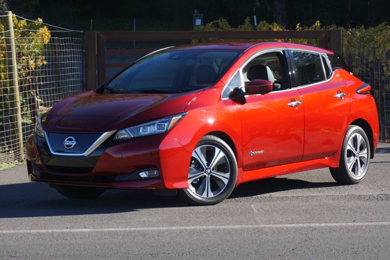 PORTLAND TRIBUNE: JEFF ZURSCHMEIDE - Nissan completely redesigned the all-electric Leaf for 2018 with new styling, more power and a longer range.