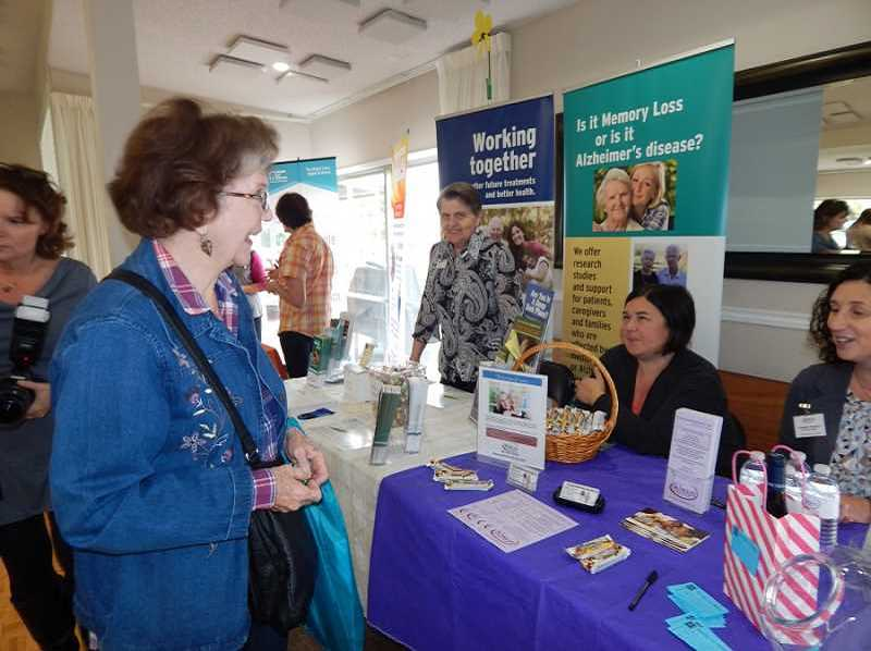 FILE PHOTO - The Tigard Senior Expo, previously known as the King City Expo, features informational booths from dozens of vendors and non-profits.