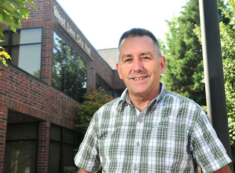 TIDINGS PHOTOS: VERN UYETAKE - Over his 31 years working as a planner in West Linn, Peter Spir helped shape the city as it doubled in population.