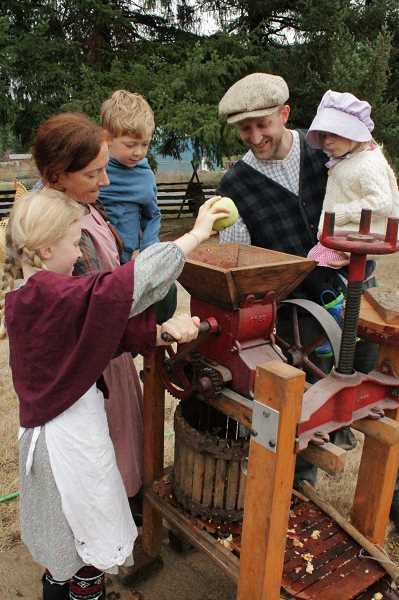 Don't miss the cider squeeze at Philip Foster Farm this Saturday.