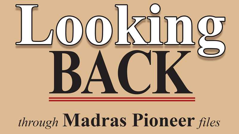 MADRAS PIONEER LOGO - The Madras Pioneer looks back through more than 100 years of newspaper archives.