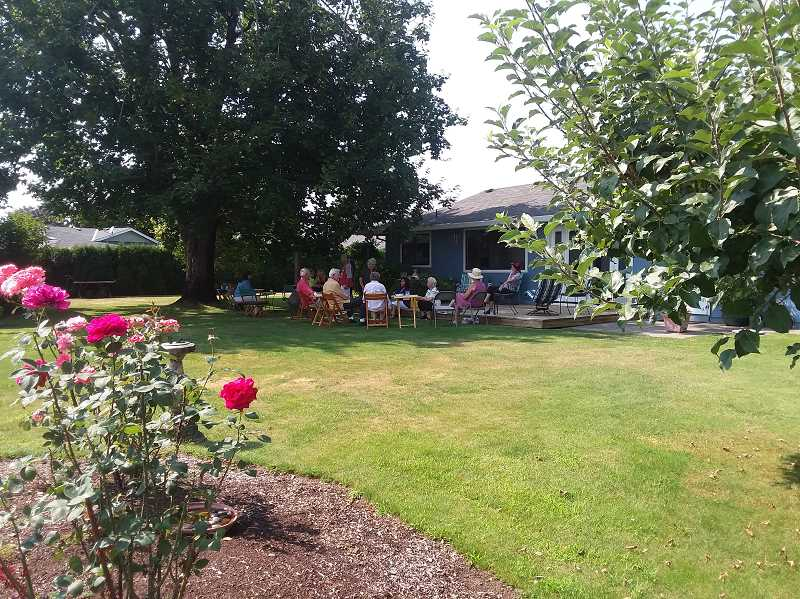 COURTESY PHOTO - Pictured is Pam Munger's yard.