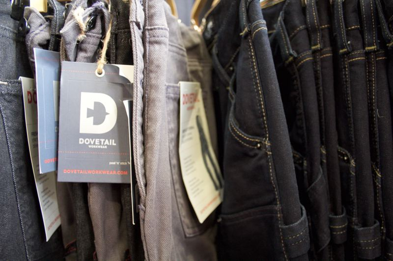 PAMPLIN MEDIA GROUP: STEPHANIE BASALYGA - Dovetail's pants feature plenty of deep pockets.