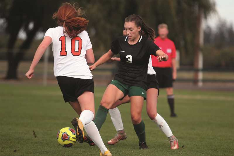 PHIL HAWKINS - North Marion struggled to maintain offensive consistency after All-State midfielder Mya Hammack left the game one minute into the second half with a leg injury.