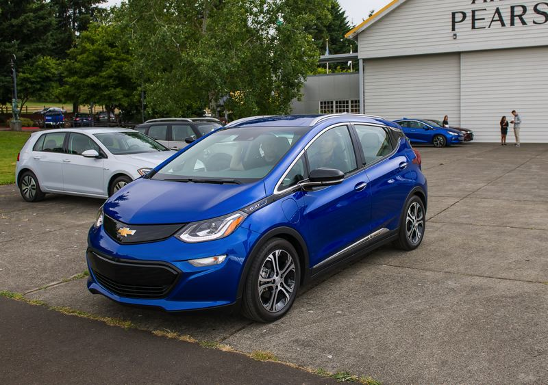 DOUG BERGER/NWAPA - The all-elecrtic Chevy Bolt will be available for test drives at the National Drive Electric Week event in Wilsonville on Sept. 15.