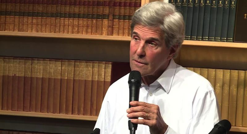 State John Kerry talked about his new book at Powell's on Sunday Sept. 16