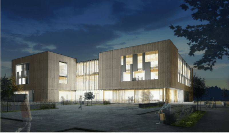 COURTESY CITY OF BEAVERTON - A rendering of the Beaverton Public Safety Center, scheduled for completion in 2020.