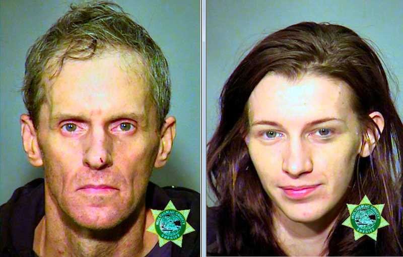 MCDC BOOKING PHOTOS - Michael Brown, left, and Shelby Taylor are both charged with multiple crimes in the incident.