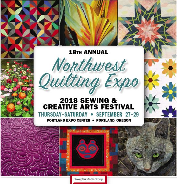Northwest Quilting Expo 2018