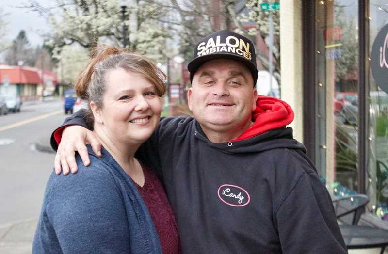 OUTLOOK FILE PHOTO - Todd Kirnan with his sister Suzette Rackley.