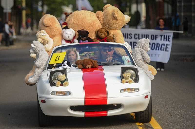 OUTLOOK FILE PHOTO - The Teddy Bear Parade will bring thousands of people to downtown Gresham Saturday, Sept. 28.